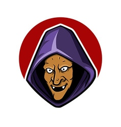 Witch Hood vector image vector image