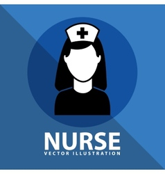 Nurse icon design vector