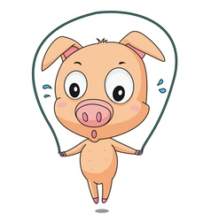 Skipping pig vector