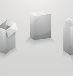 Design package boxes vector image