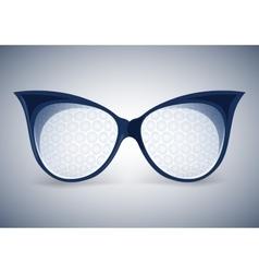 Facet sunglasses vector