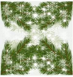 pine tree background vector image