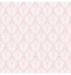 Damask seamless pattern background vector