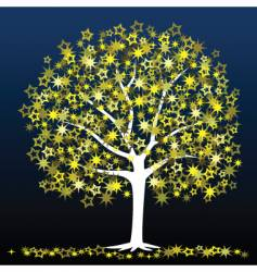 star tree vector image