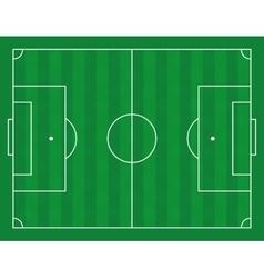 a football field vector image