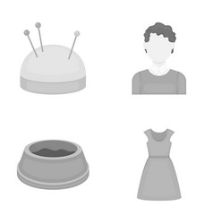 Atelier hairdresser business and other web icon vector