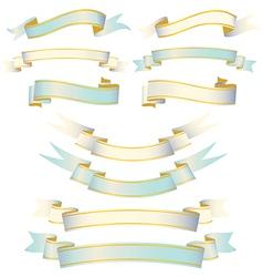 Elegant Ribbon Set vector image