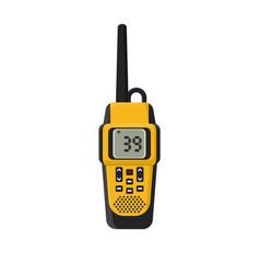 walkie-talkie  flat vector image