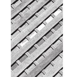 Diagonal wooden planks vector