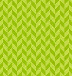 Abstract triangle chevron green seamless pattern vector image vector image