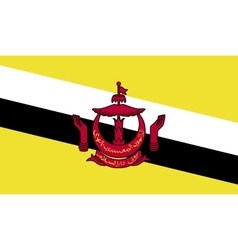 Brunei flag image vector