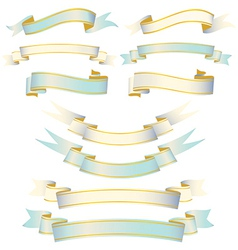 Elegant Ribbon Set vector image