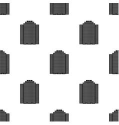 High-rise building skyscraperrealtor single icon vector
