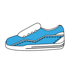 Sport sneakers icon image vector