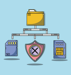 System data center information server vector