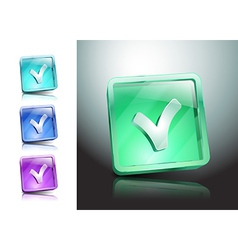Tick Icon yes icon check checkmark vector image
