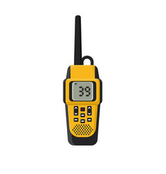 walkie-talkie flat vector image