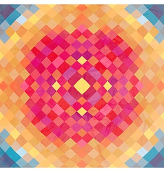 Geometric backdrop of geometric shapes colorful vector