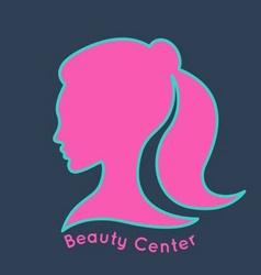 Beauty center logo design template vector