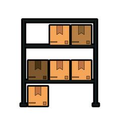 box in storage icon image vector image vector image