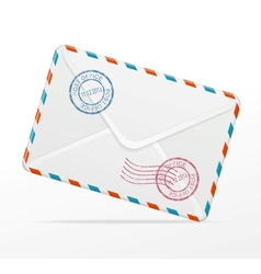 detailed envelope vector image vector image