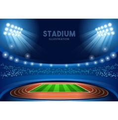 Stadium background 2016 summer games vector