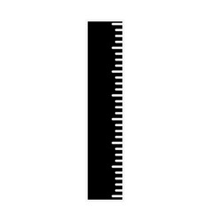 ruler utensil icon vector image