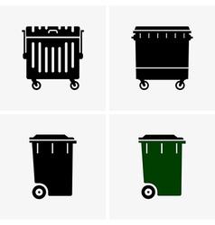 Dumpster vector