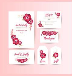 Spring ornament concept floral poster invite vector