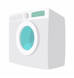 Washing machine cartoon icon vector image vector image