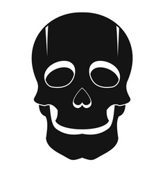 singer mask icon simple style vector image