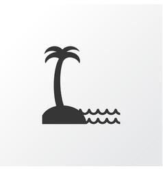 Seaside place icon symbol premium quality vector