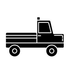 Cargo truck icon vector