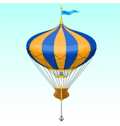 Cartoon air balloon vector
