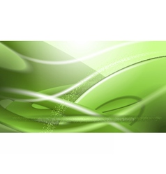 Digital abstract empty green background vector