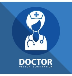 doctor icon design vector image