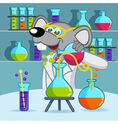 Mouse scientist vector