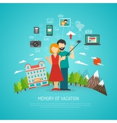 Photography concept flat vector