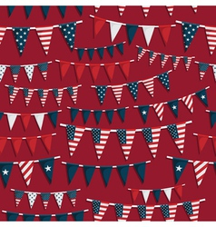 Usa party pattern vector