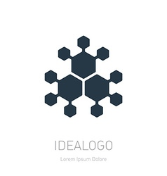 Abstract design element logo or icon vector