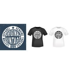 T-shirt print design vector