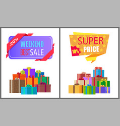 Weekend best sale special exclusive offer price vector