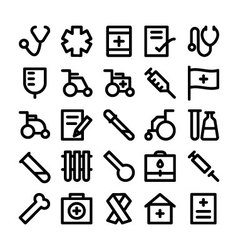 Medical and health icons 5 vector