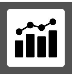 Analytics icon vector