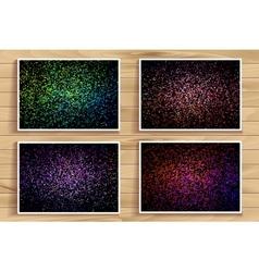 Color splash set vector