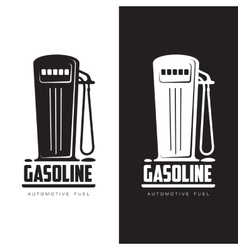 Petrol station logo vector