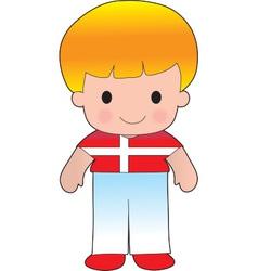 Poppy Denmark Boy vector image