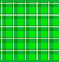 Green checkered cloth vector