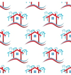 Downtown pattern vector