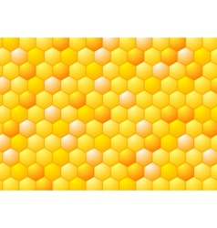 Abstract honeycombs Tech geometric design vector image vector image